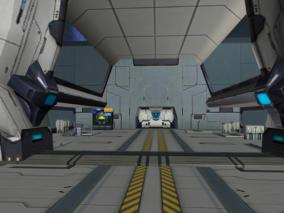 机甲世纪 机甲 机器人 机甲科幻 科幻 高质量 写实场景 研究室 飞