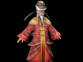 次世代 写实 古代将军 古装侠客 侠士 大都督 将军 武侠 中国风 男生 武林 古代人物 老人