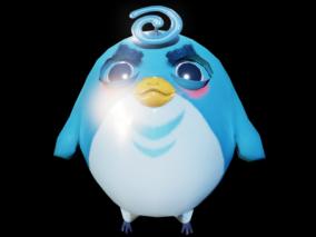 次世代 Q版小鸟 小鸟 鸟 3d模型