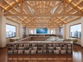 现代图书馆会议室