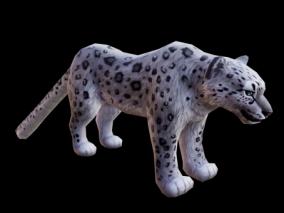 豹子 花豹 带动画