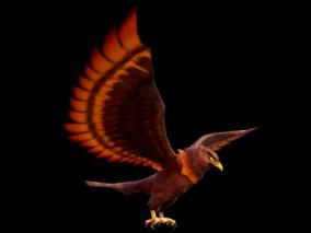 3D模型 老鹰 鹰 3d模型