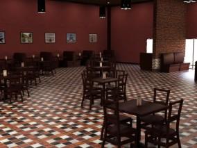 厅餐 酒店大厅 场景