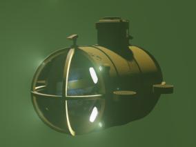 潜水艇 潜航器