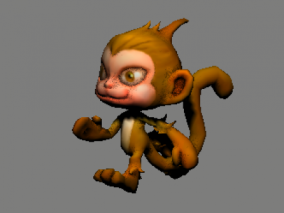 猴子 可爱猴 小猴子