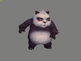 熊猫 大熊猫 3d模型