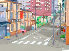 街景 街头 街道 3d模型