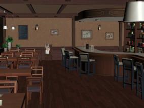 餐厅 餐馆 茶餐厅 饭馆 地面凳子 沙发