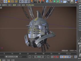 多种文件格式  古代头盔 护具  战争防护用具 3d模型
