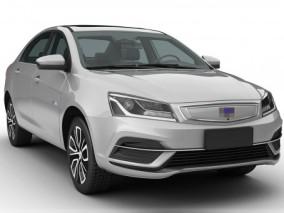 2019款吉利帝豪新能源EV,帝豪新能源EV,帝豪汽车,不带内饰版 3d模型