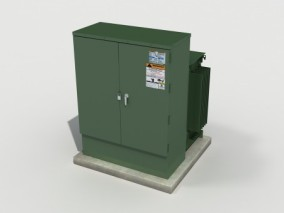 电气箱 电箱 配电箱 3d模型