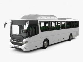 斯堪尼亚巴士 3d模型