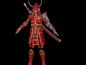 服装   武士铠甲