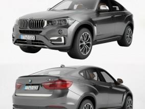 宝马 BMW X6 汽车轿车越野车