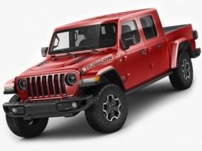 吉普角斗士 Jeep Gladiator 越野车汽车轿车 Max+C4D+LWO