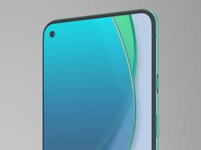 一加 ONEPLUS 8T手机C4D Octane/Redshift渲染 3d模型