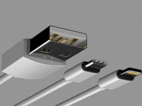 USB头 充电头 tupe-c 苹果数据线 Apple Lightning接头 micro usb