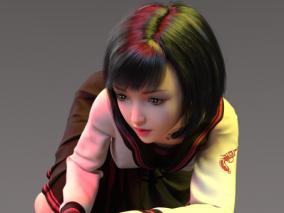 清纯学生妹中式日式韩式中学生