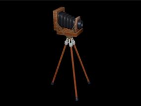 老式照相机 旧相机 照相机 古董相机 摄影摄像 留影 民国相机 工业革命 场景道具 复古照相机 古董