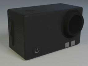 数码相机 运动相机 摄影 摄像 3d模型