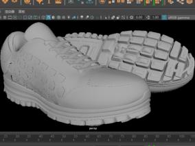 耐克运动鞋(最终版) 3d模型