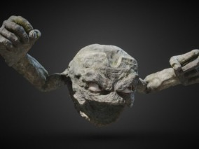 宠物小精灵  小拳石  石头怪  石头人  Geodude 3d模型