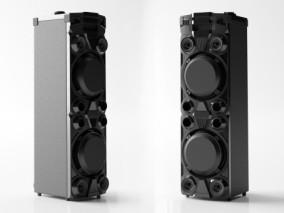 现代音响设备 音响 扬声器 派对音响系统设备 3d模型