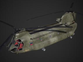 PBR次世代 运输直升机 支奴干 飞行车厢 双螺旋桨 CH-47 航空 空军 军用飞机 Chinoo