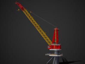 PBR  重型塔吊 大型塔吊机 吊机   吊塔 工地塔吊 工业设备 动臂塔吊 平臂塔吊 塔式起重机