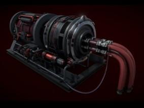 引擎 泵 马达 发电机 涡轮 压缩机 变电箱 工业机床 核能 提炼设备 3d模型