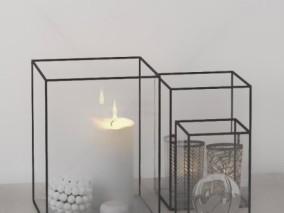 蜡烛 电灯泡 烛光 烛火 照明 蜡烛挂灯 壁灯 装饰 摆设品 灯具蜡烛灯蜡烛灯架 3d模型