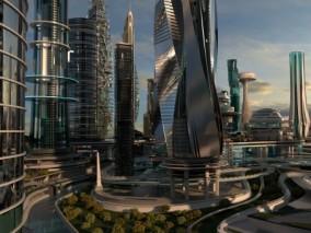 未来城市 科幻城市 未来建筑 科幻建筑 科技城市 未来之城 数字城市 3d模型