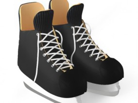 体育用品模型滑冰鞋模型滑雪鞋模型溜冰鞋模型