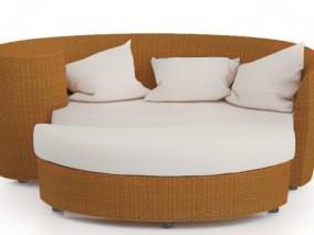 椅子 躺椅 沙发 单人沙发 双人沙发 真皮沙发 简约沙发 美式沙发 3d模型