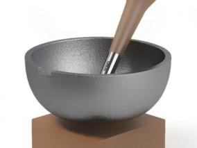 碗 古董陶 瓷碗 茶碗 民窑石臼 研磨 古代石臼 研钵 捣碎 研杵 杵碾槌 研磨碗 捣药 唐宋元明清