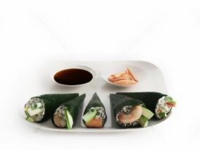 寿司 虾 盘子 寿司拼盘 日本寿司 日本食材 糯米饭 三文鱼寿司 日本料理 刺身