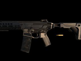 枪支  枪  武器  3d模型