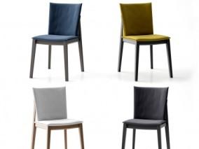 现代餐椅 餐椅 皮椅子