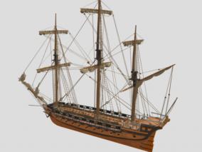 手绘低模 船艇 观光船 帆船 古代船 渔船 旅游船 科幻船 鱼船 商船 轮船 火轮船