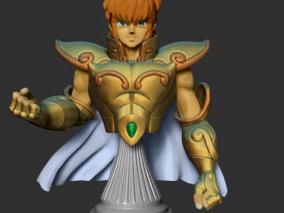 圣斗士沙加 3d模型