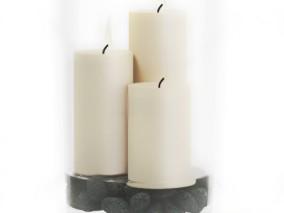 摆件装饰品 蜡烛 3d模型