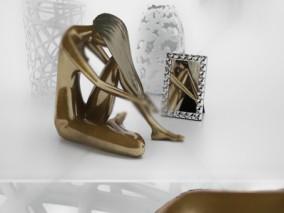 工艺品 雕塑 相框 3d模型