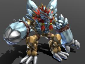 戈格马兽 3d模型
