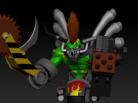 机械兽 3d模型