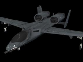 A10战斗机 军用飞机 攻击机 双引擎攻击机 概念飞机 新型攻击机 战斗飞机 科幻战斗机