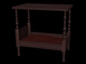 旧床 古代床 古代壁床 清朝床 床铺 木板床 木床 复古床