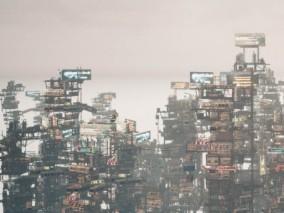 ue4 未来废墟城市 未来都市 超级玩家贫民窟 虚幻4