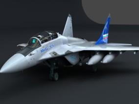 米格-35 3d模型