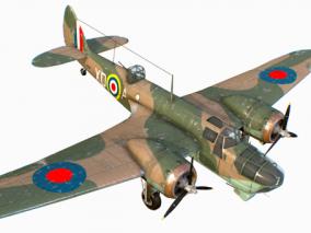战机 波音飞机 战斗机 攻击机 轰炸机 侦察机 反潜机  老式飞机 3d模型