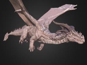 西方飞龙 神话龙 次世代飞龙 巨龙 恶龙 喷火龙 神龙 恐龙 3d模型